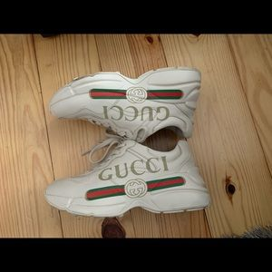 Gucci Rhython Womens Sneakers Size 6.5